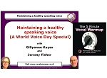 Optimise Your Speaking Voice Download Package