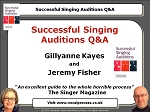 Webinar 15 Successful Singing Auditions Q&A