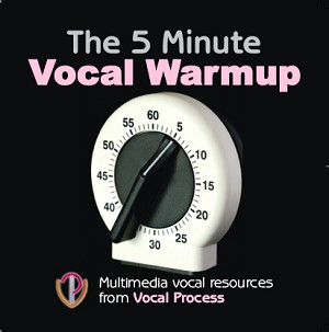 5 Minute Vocal Warmup for your speaking voice CD