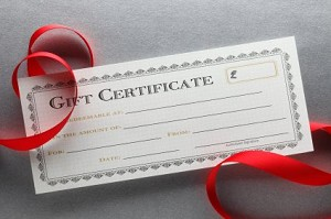 Gift Certificate £5