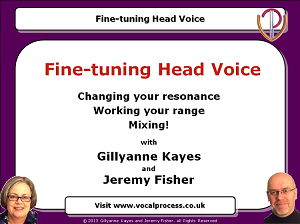Webinar 13 Fine-tuning Head Voice