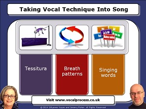 Webinar 18 Taking Vocal Technique Into Song